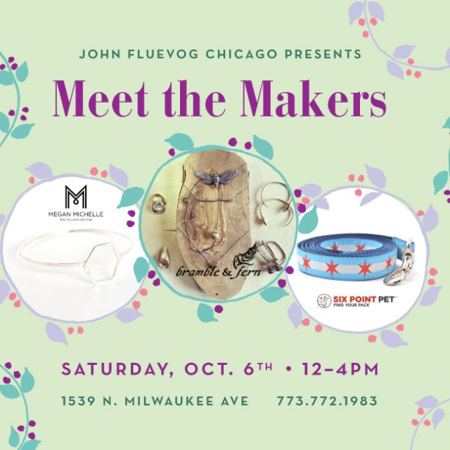 Meet the Makers Pop-up Shop in Chicago!