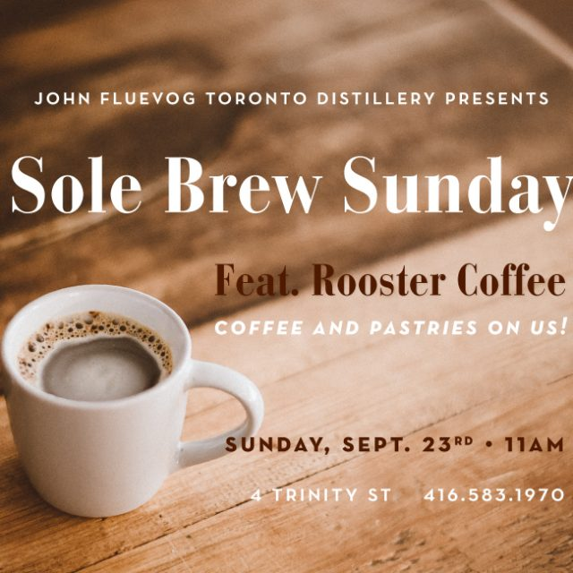 Sole Brew Sunday at the Distillery