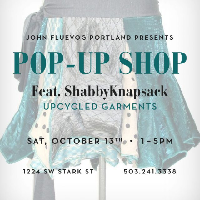 ShabbyKnapsack Pop-up Shop in Portland!