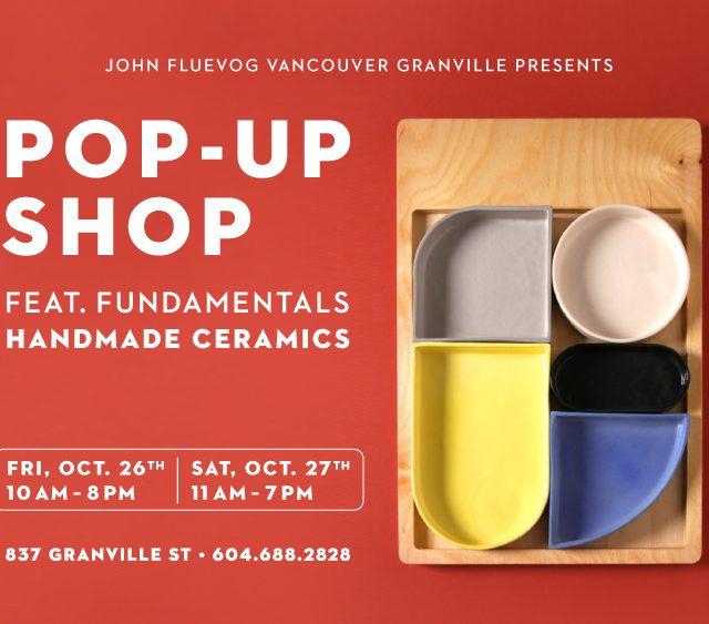 Fundamentals Pop-up Shop on Granville