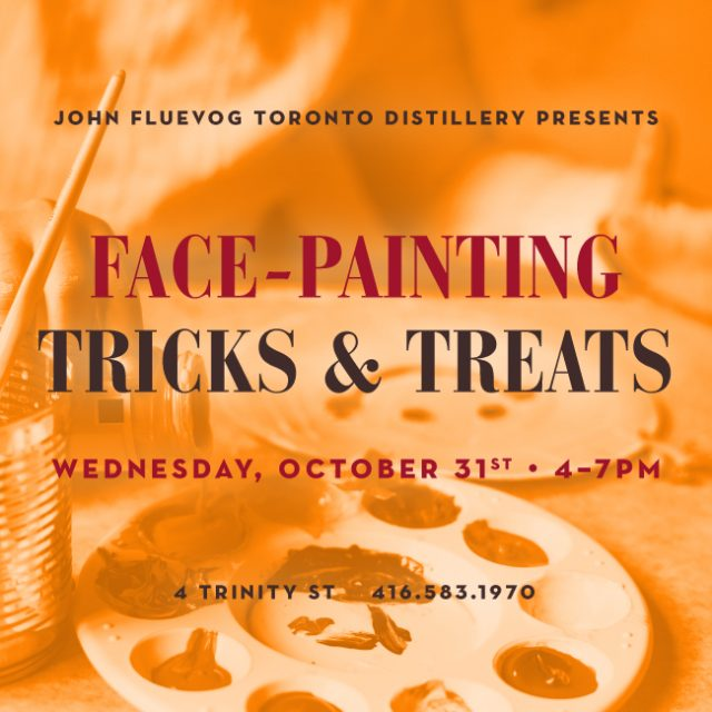 Face-painting Tricks & Treats at the Distillery!