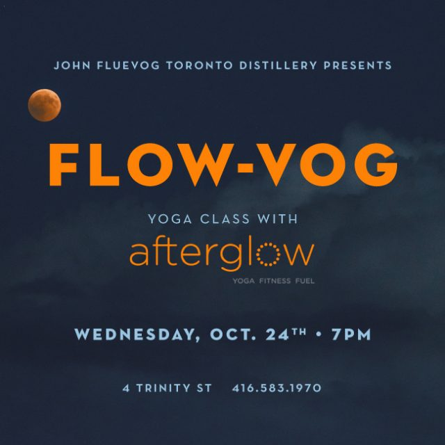 Flow-Vog at the Distillery!