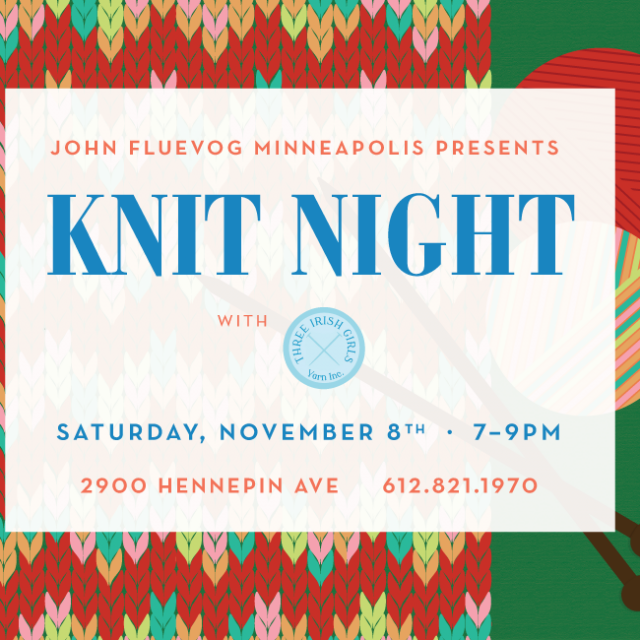 Knit Night in Minneapolis!
