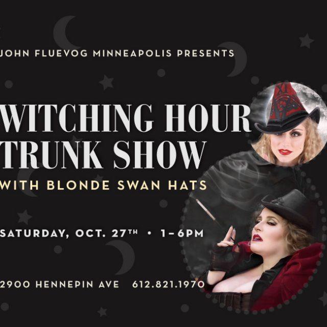 Blonde Swan Trunk Show in Minneapolis