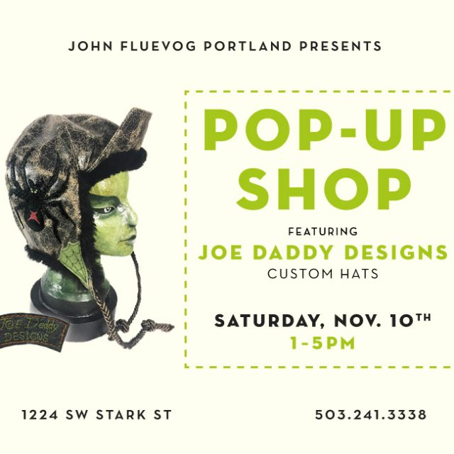 Joe Daddy Designs Pop-up Shop in Portland