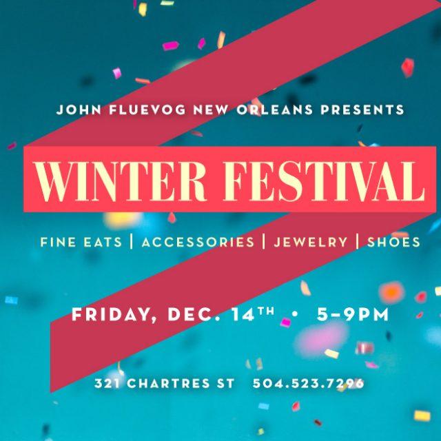 Winter Festival in NOLA!