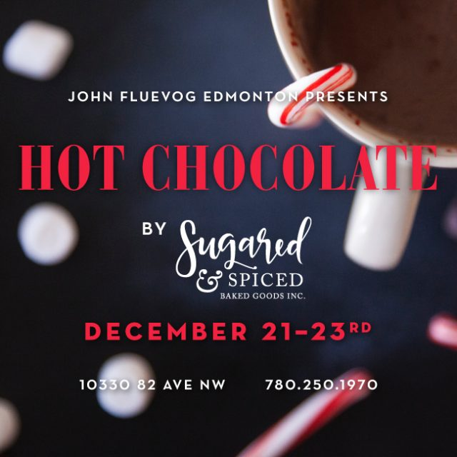 Sugared & Spiced x Fluevog Edmonton