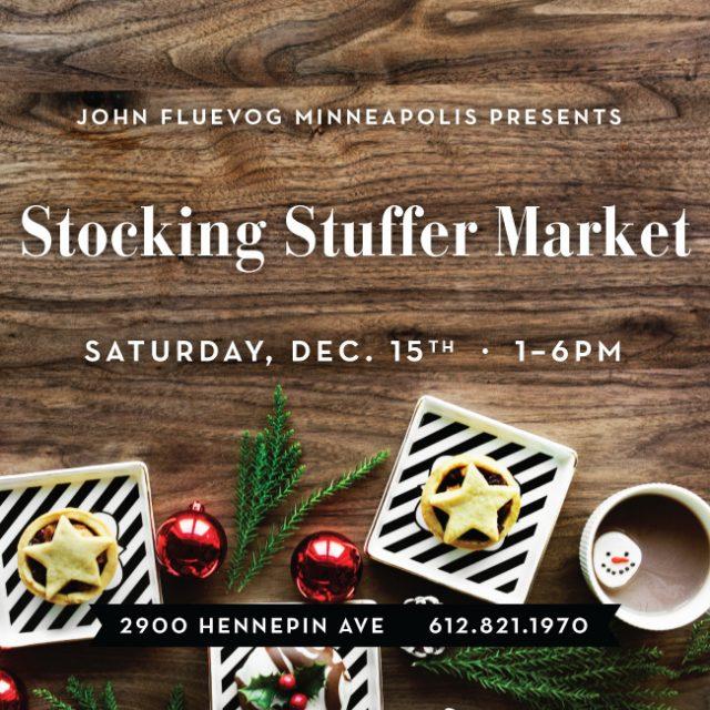 Stocking Stuffer Market in Minneapolis!