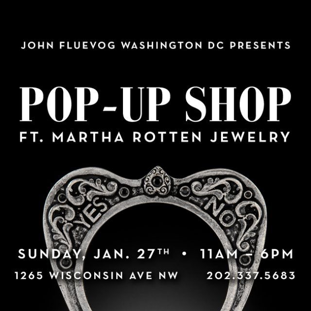 Jewelry Pop-up Shop in DC