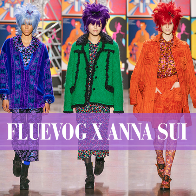 Fluevog x Anna Sui at New York Fashion Week