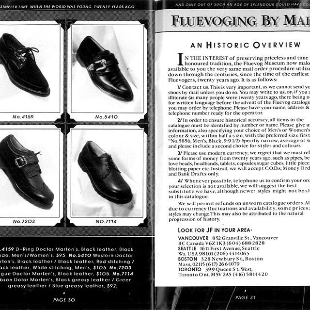 Way Back Wednesday: Twenty Years with John Fluevog