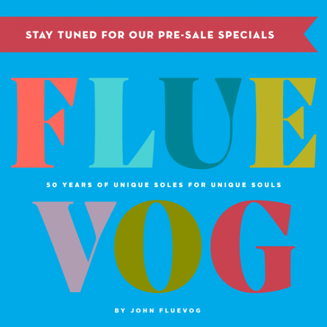 John Fluevog to release 50th Anniversary coffee table book — Pre-sale starts soon!