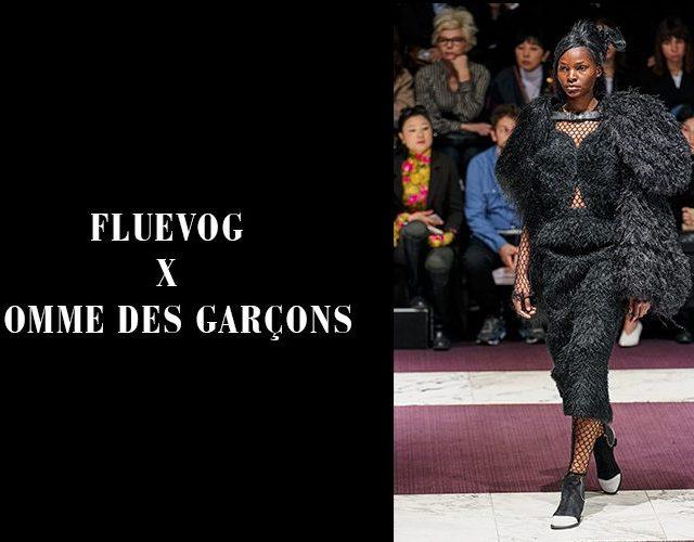 Fluevog x Comme des Garçons at Paris Fashion Week
