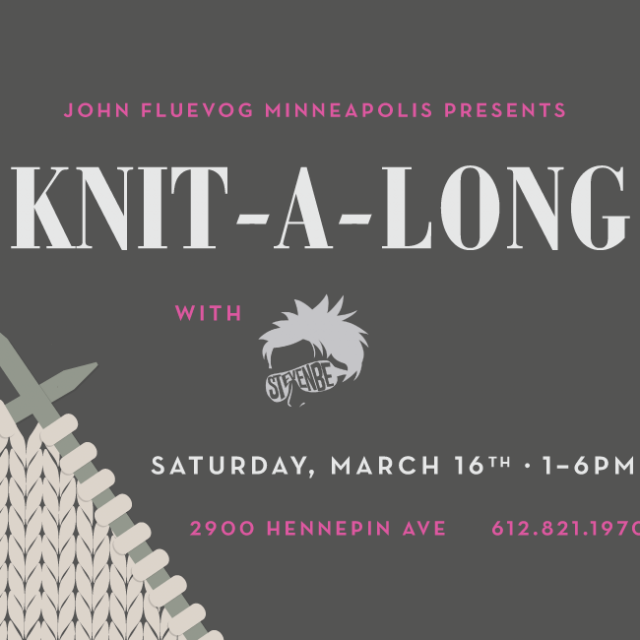 Uptown Knit-a-long in Minneapolis