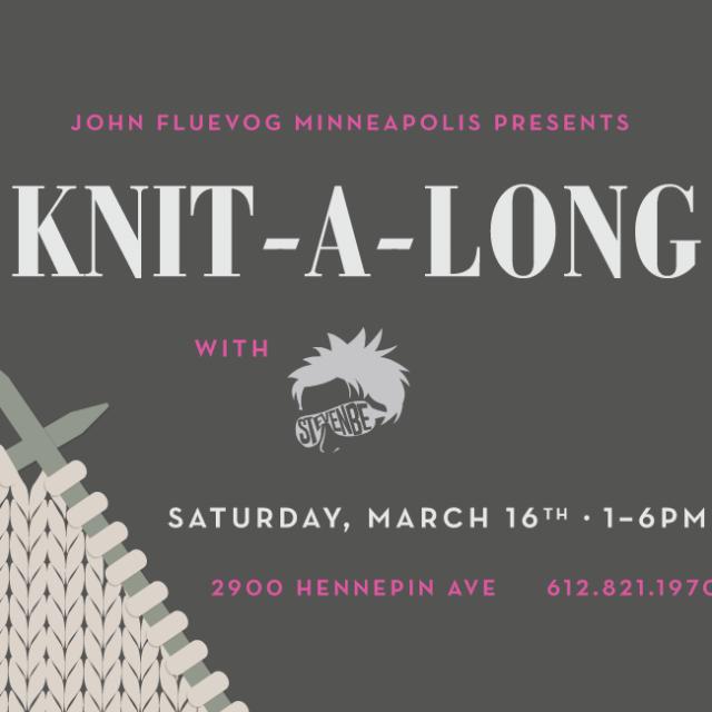 Uptown Knit-a-long in Minneapolis