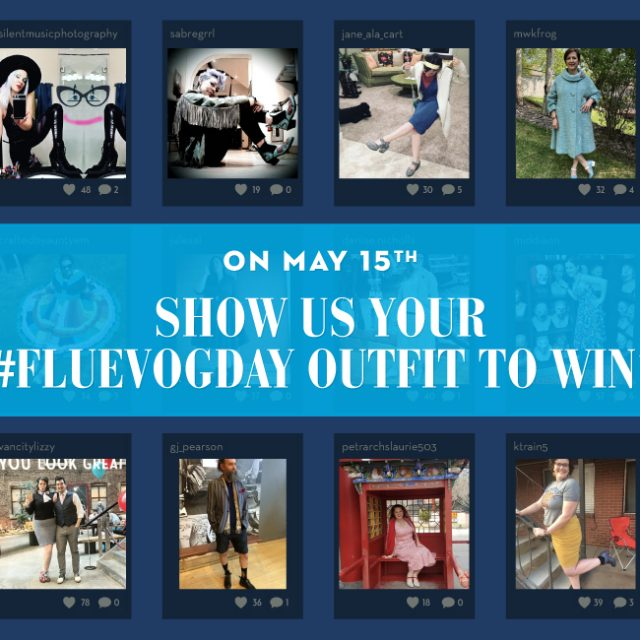 Show off your #FluevogDay outfit to WIN!
