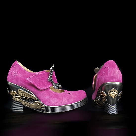 Fluevog X Anna Sui Limited Edition shoes
