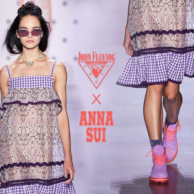 Fluevog X Anna Sui at New York Fashion Week!