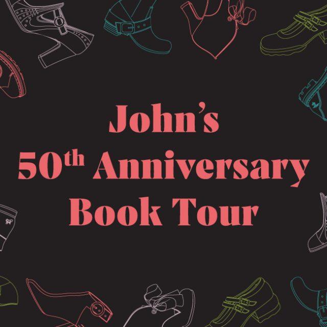 Fluevog: 50 Years of Unique Soles for Unique Souls Book Tour!