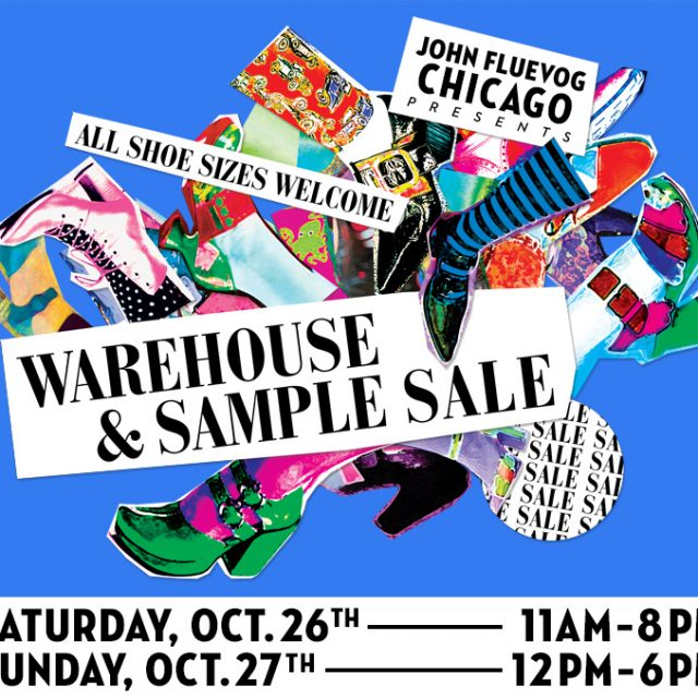 Fluevog Warehouse and Sample Sale in Chicago!