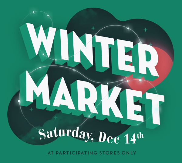 'Tis the season for The Fluevog Winter Market!